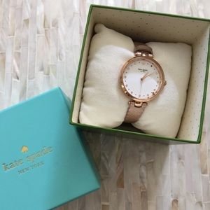 Kate Spade Rose Gold Holland Scalloped Watch